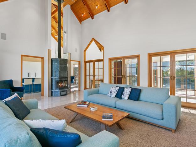 Living Room & Entrance Atrium