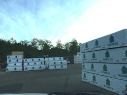 Interfor Lumber Ready for Loading