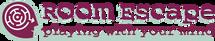 Room Escape Logo mit claim ohne Hintergr