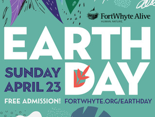 Celebrate Earth Day with us at FortWhyte  Alive!