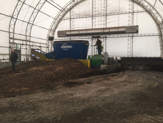 Biosolids Composting at Brady Road