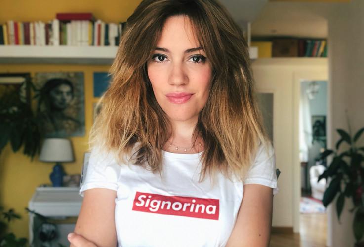 T-shirt Signorina per Lucha y Siesta