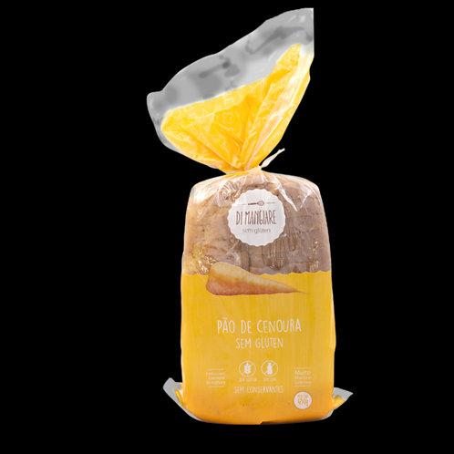 Pão de Cenoura sem glúten e sem lactose Di Mangiare 450g