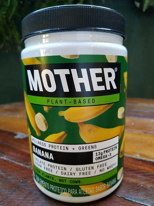 Mother Suplemento protéico para atletas sabor banana 300g
