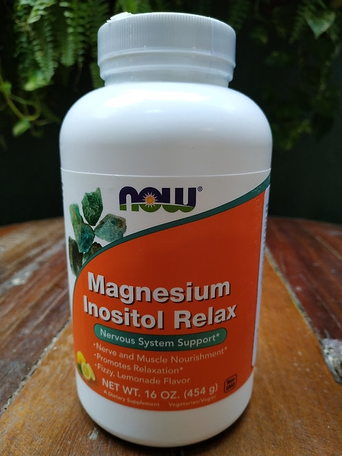 NOW MAGNESIUM INOSITOL RELAX 454g