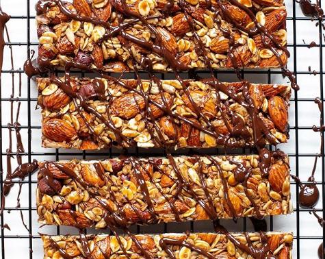 Barra de Nuts & Caramelo Salgado