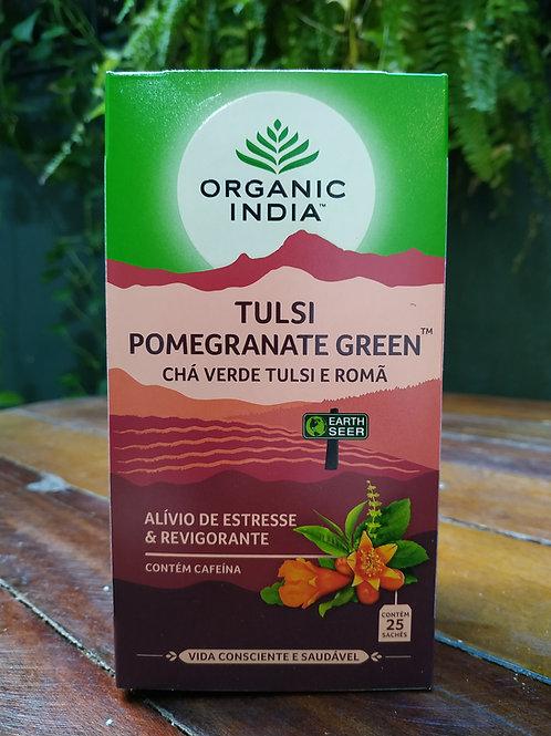 Chá Tulsi Chá verde Tulsi e romã
