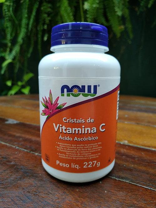 Now Vitamina C ácido ascórbico 227g
