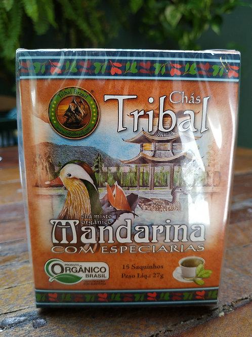 Chás Tribal mandarina com especiarias