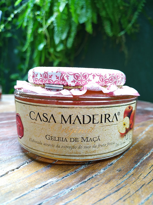 CASA MADEIRA GELEIA DE MAÇÃ 240g