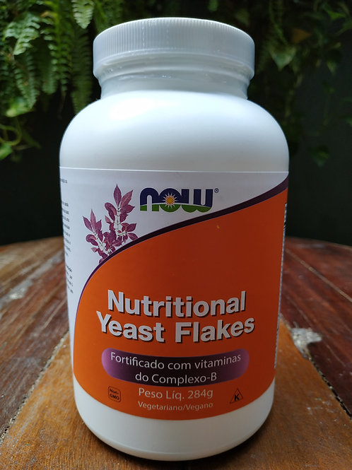 NOW NUTRITIONAL YEAST FLAKES 284g