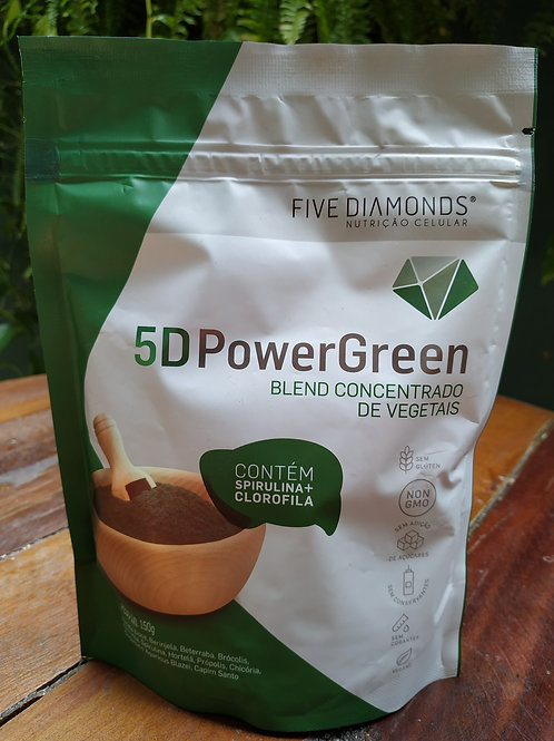 FIVE DIAMONDS 5D POWER GREEN 150g
