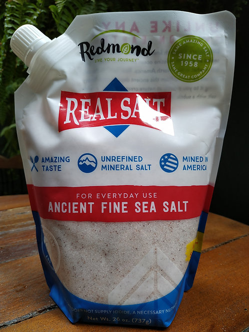 Sal Integral Cristais Finos Refil 737g - Real Salt