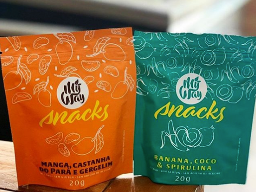 Snacks veganos,
