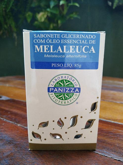 Sabonete Glicerinado com óleo essencial de melaleuca