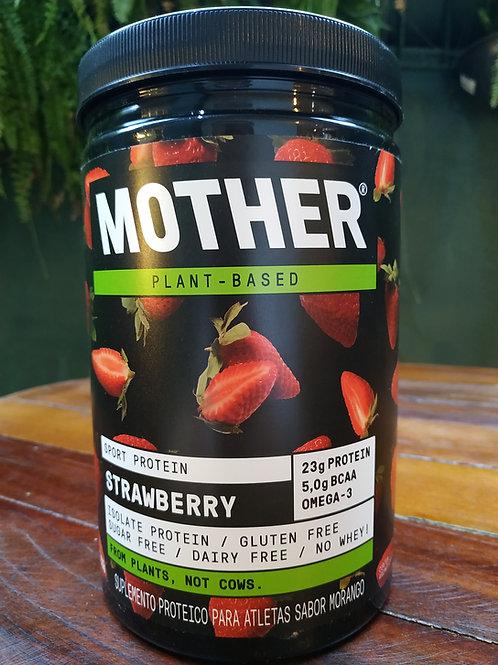 Mother Suplemento protéico para atletas sabor morango 527g
