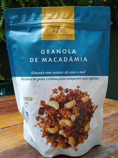 Granola de macadâmia 200g