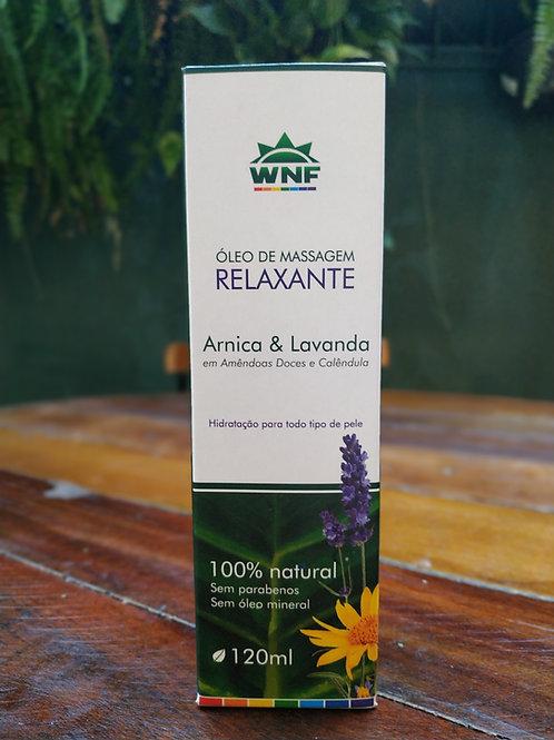 Óleo de massagem relaxante Arnica & Lavanda 120ml
