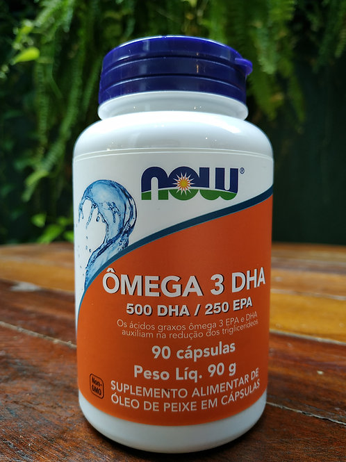 Now omega 3 DHA 90g