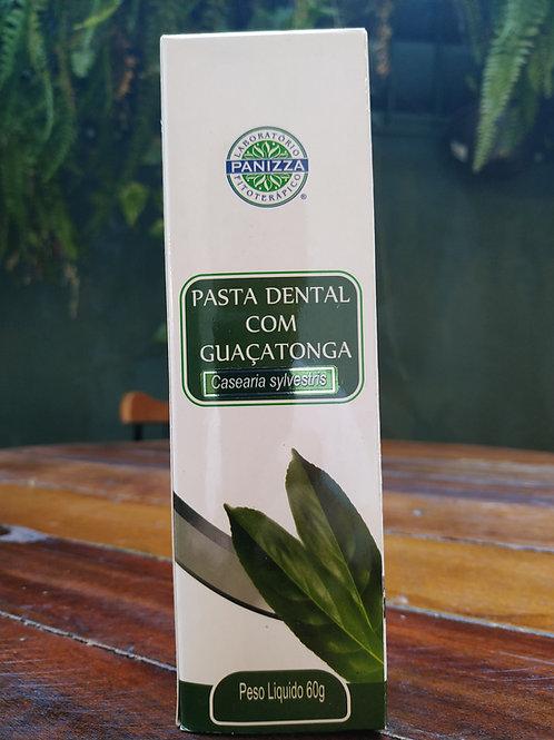 Pasta dental com Guaçatonga
