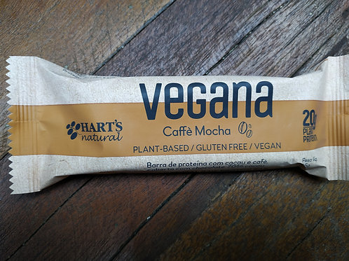 Barra de Proteína Vegana de Cacau e Café - Hart's