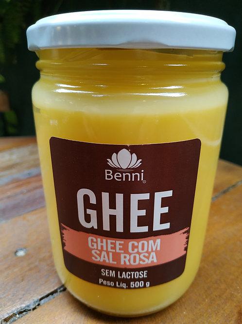 BENNI MANTEIGA GHEE COM SAL ROSA 500ml