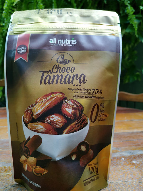 Choco Tâmara Drageado de Tâmara com chocolate