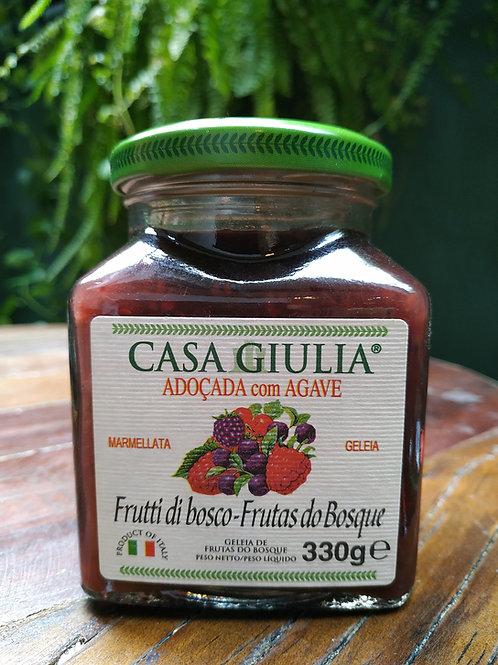 CASA GIULIA MARMELLATA  FRUTAS DO BOSQUE 330g