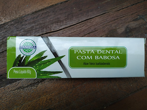 Pasta dental com babosa