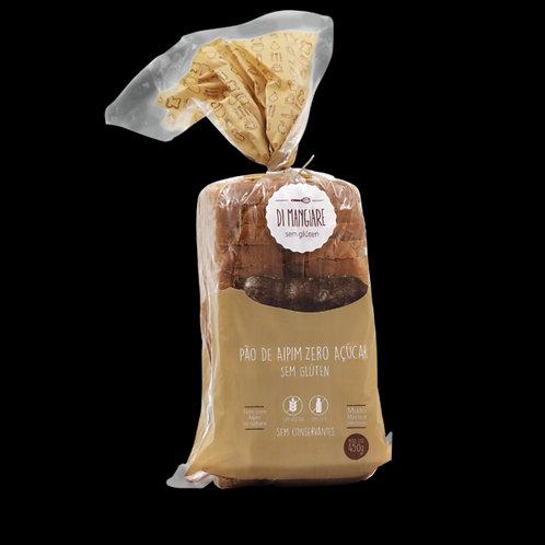 Pão de Aipim Zero Açúcar sem glúten e sem lactose Di Mangiare 450g