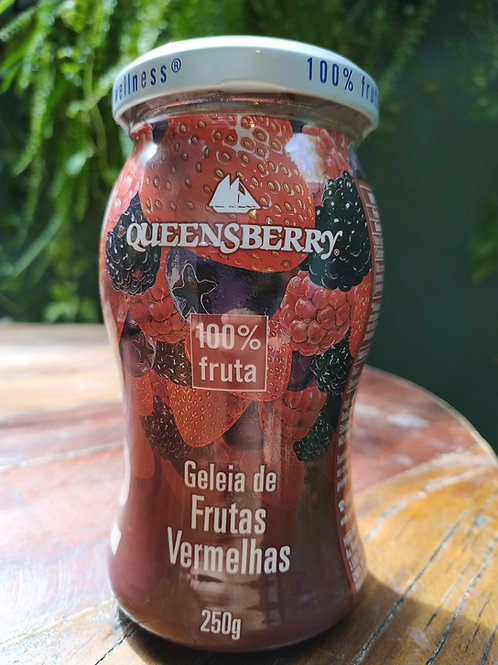 QUEENSBERRY GELEIA DE FRUTAS VERMELHAS 250g