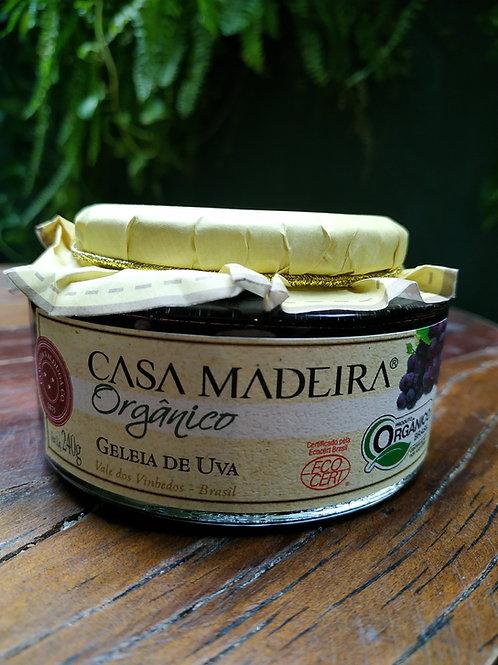 CASA MADEIRA GELEIA DE UVA 240g