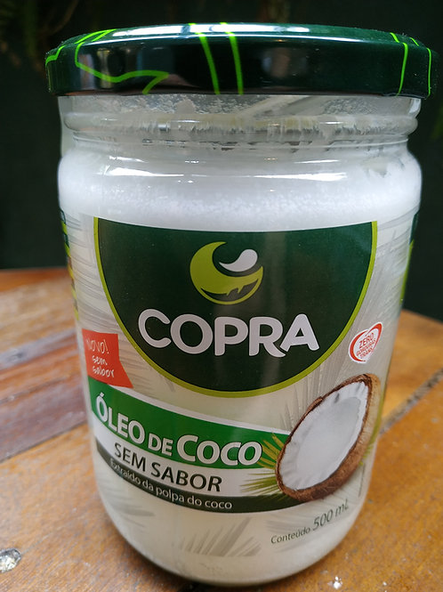 Óleo De Coco Sem Sabor 500ml - Copra Coco