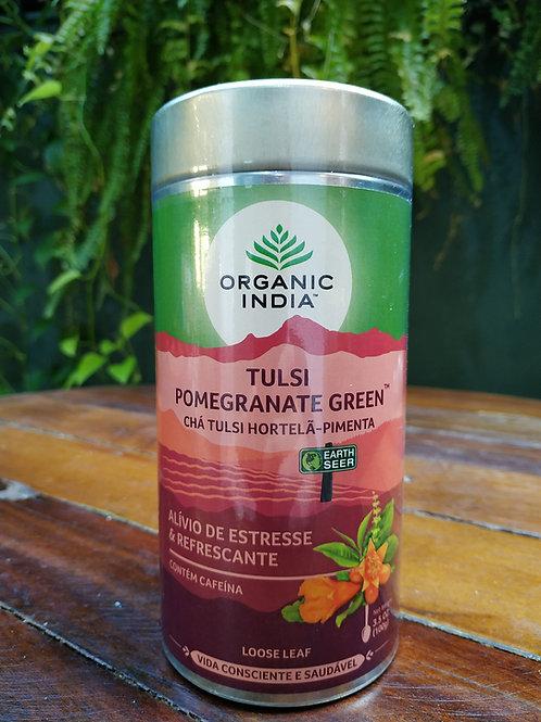 Chá Tulsi hortelã e pimenta