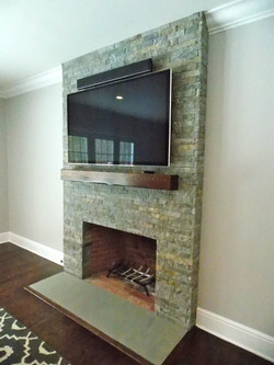 Family Fireplace