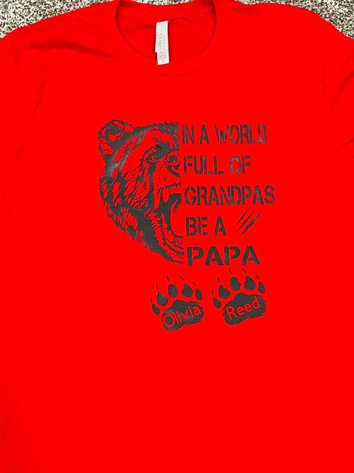 In A World Full Of Grandpas....