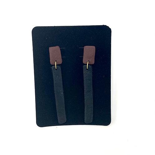Strip x Squared (Brown/Black)