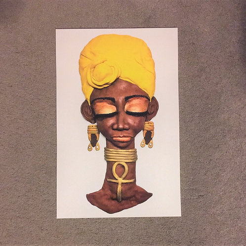 "11x17 Photo Print ""Headwrap"""
