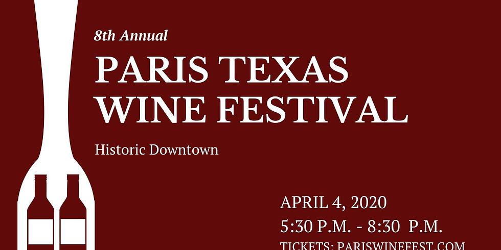 Paris Texas Wine Festival