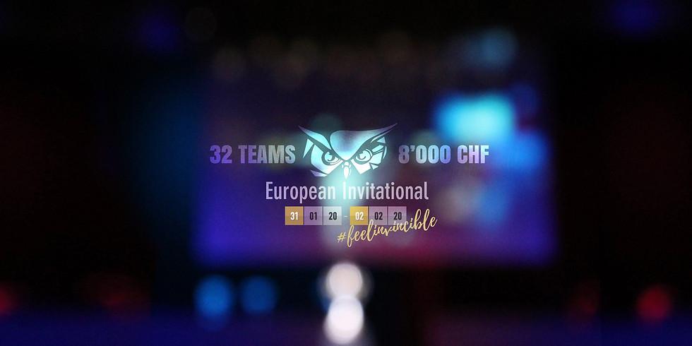 Supreme Masters - European Invitational 2020