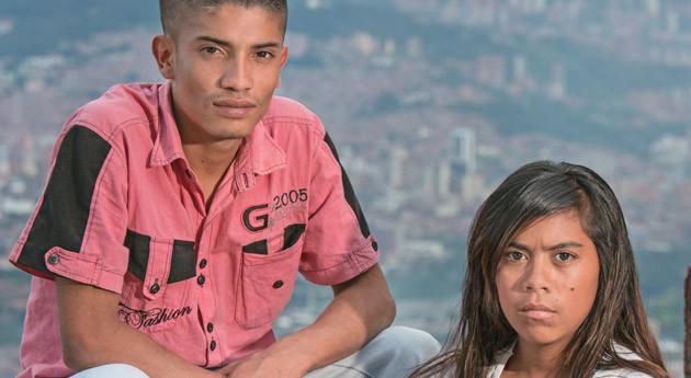 Alejandra Montoya y Hector Orrego