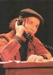 Silvio Orvieto, rôle du « fou » dans « Mort Accidentelle d'un Anarchiste »