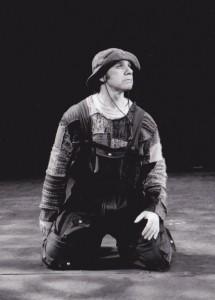 Silvio Orvieto joue Sosie dans l'Amphitryon, Théâtre Denise Pellettier, 2002