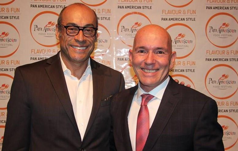 Francisco Alvarez y Daniel García-Herreros. Foto cortesía: Francisco Alvarez.