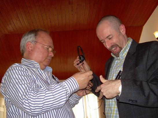 Alfonso Montealegre y Jaime Báguena