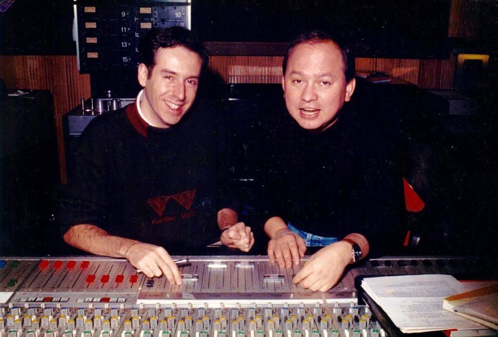 Jaime Báguena y Alfonso Montealegre. Europarade 80's.