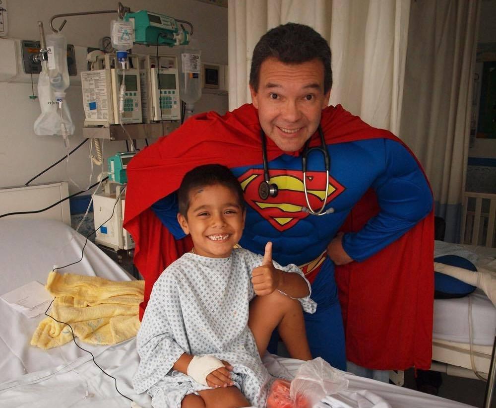 Dr. Sergio Gallegos. Foto cortesía: Dr. Sergio Gallegos.