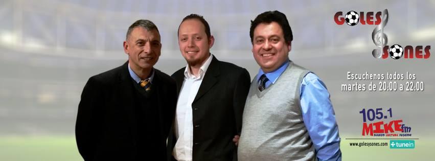 Carlos Messina (izq) Alejandro Castañeda (centro) Manuel Vergara(der).