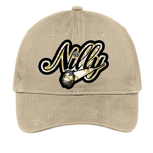 Classic Nilly Logo Dad Hat Khaki