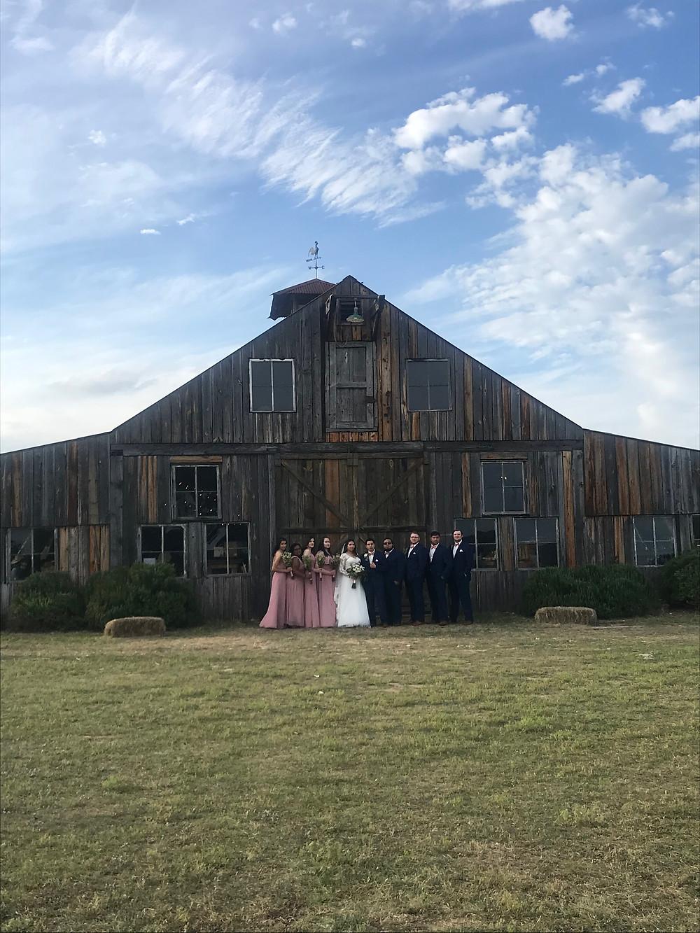 Wedding at the 1850 Settlement